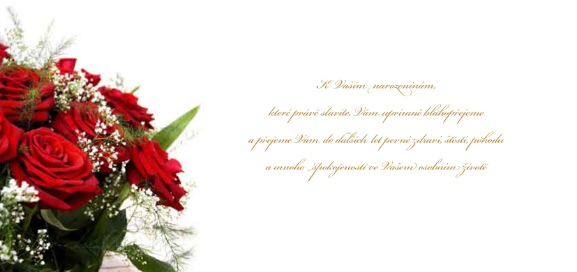 blahoprani k narozeninám Blahopřání, Kondolence   Blahopřání k narozeninám kartička  blahoprani k narozeninám
